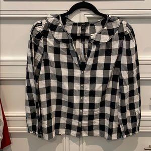 NWT, JCrew buffalo plaid shirt